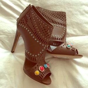 Brand New Gucci studded booties, size 39.5